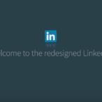 Ny sökfunktion i ny design på LinkedIn