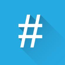 Hashtag på LinkedIn